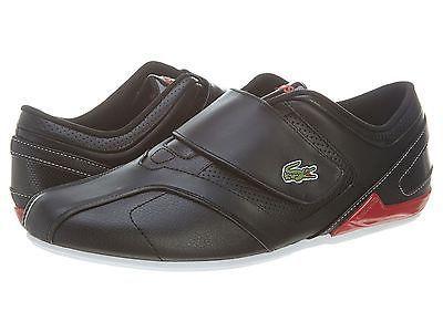 082ff12a9ec340 Lacoste Future Strap Mcy Spm Lth Syn Mens 7-27SPM1149-1B5 Black Shoes