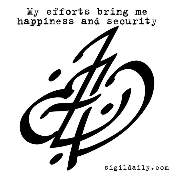 """My Efforts Bring Me Happiness And Security"" 