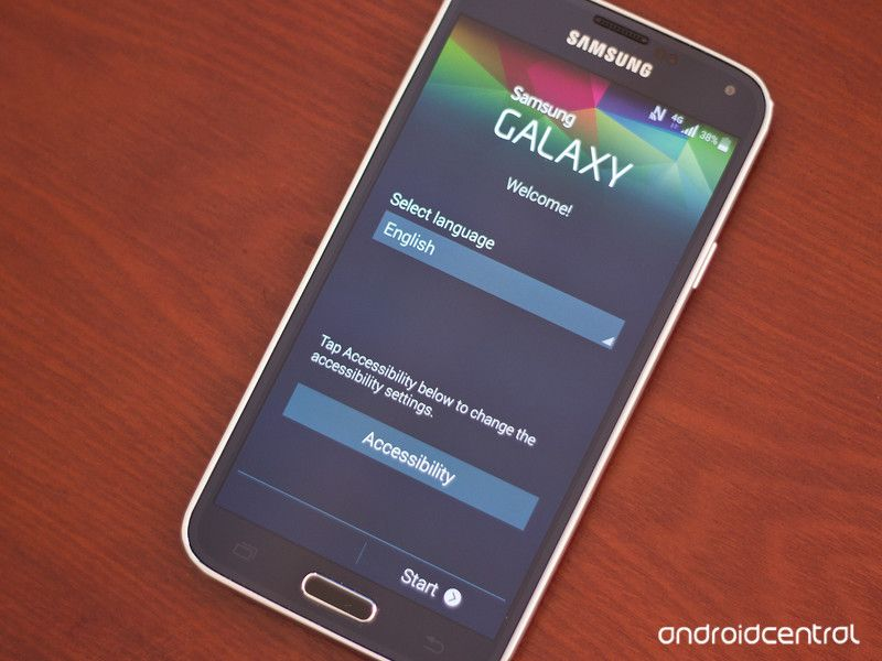 How to set up your samsung galaxy s5 samsung galaxy s5