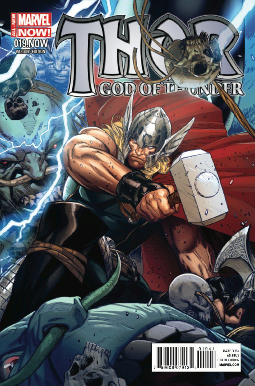 Thor: God of Thunder #19 (2012) Variant Cover by Clay Mann