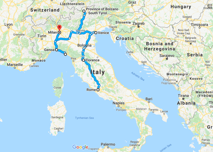 The Ultimate 10 Days In Italy Itinerary Follow Me Away 10 Days In Italy Italy Itinerary Italy Travel