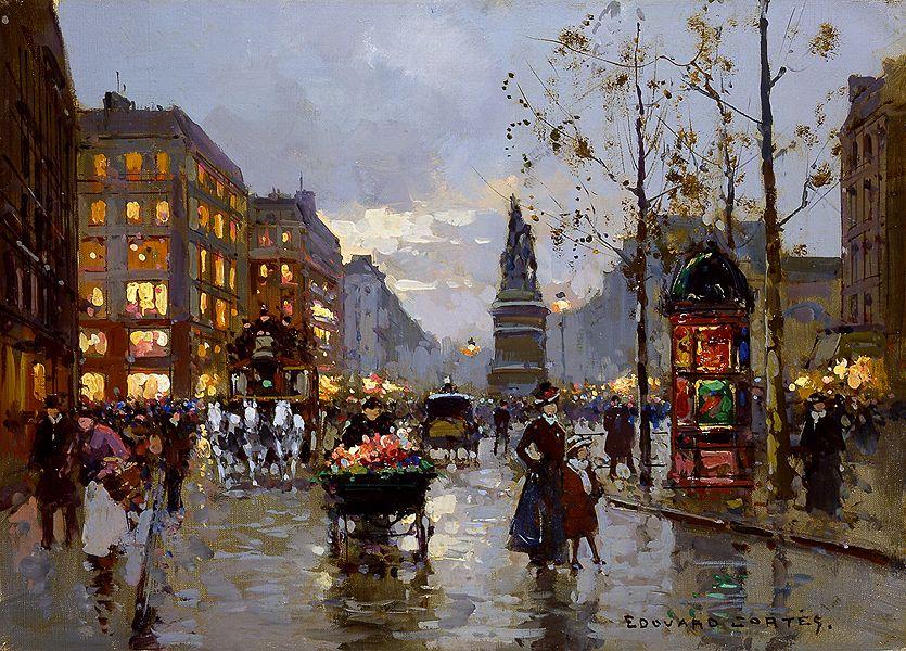 Assez Les 361 meilleures images du tableau Peintures Edouard Leon Cortes  VA85