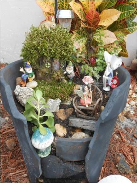 practical ideas on how to create a miniature garden find fun art projects to do