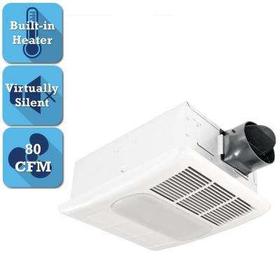 Radiance Series 80 CFM Ceiling Bathroom Exhaust Fan with ...