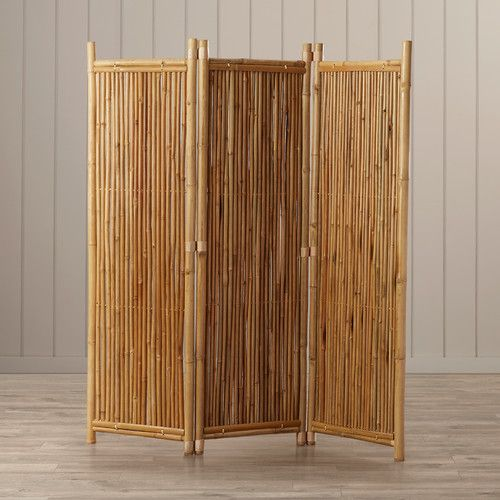 Found it at Wayfair Porter 63 x 60 3 Panel Bamboo Room Divider