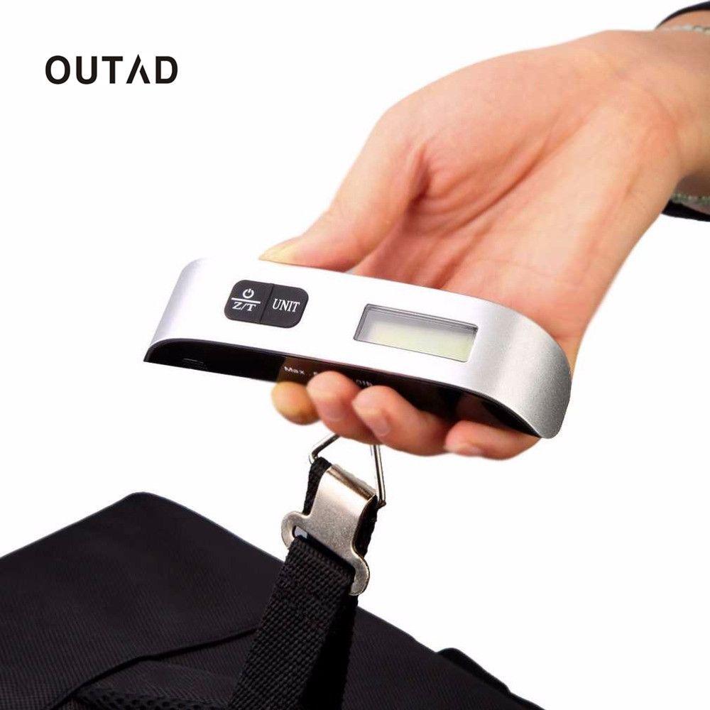 50kg//10g Portable Digital bagages échelle écran LCD voyage Crochet Hanging poids