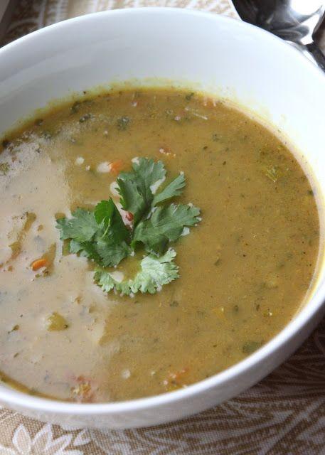 Crock Pot Mulligatawny Soup #mulligatawnysoup