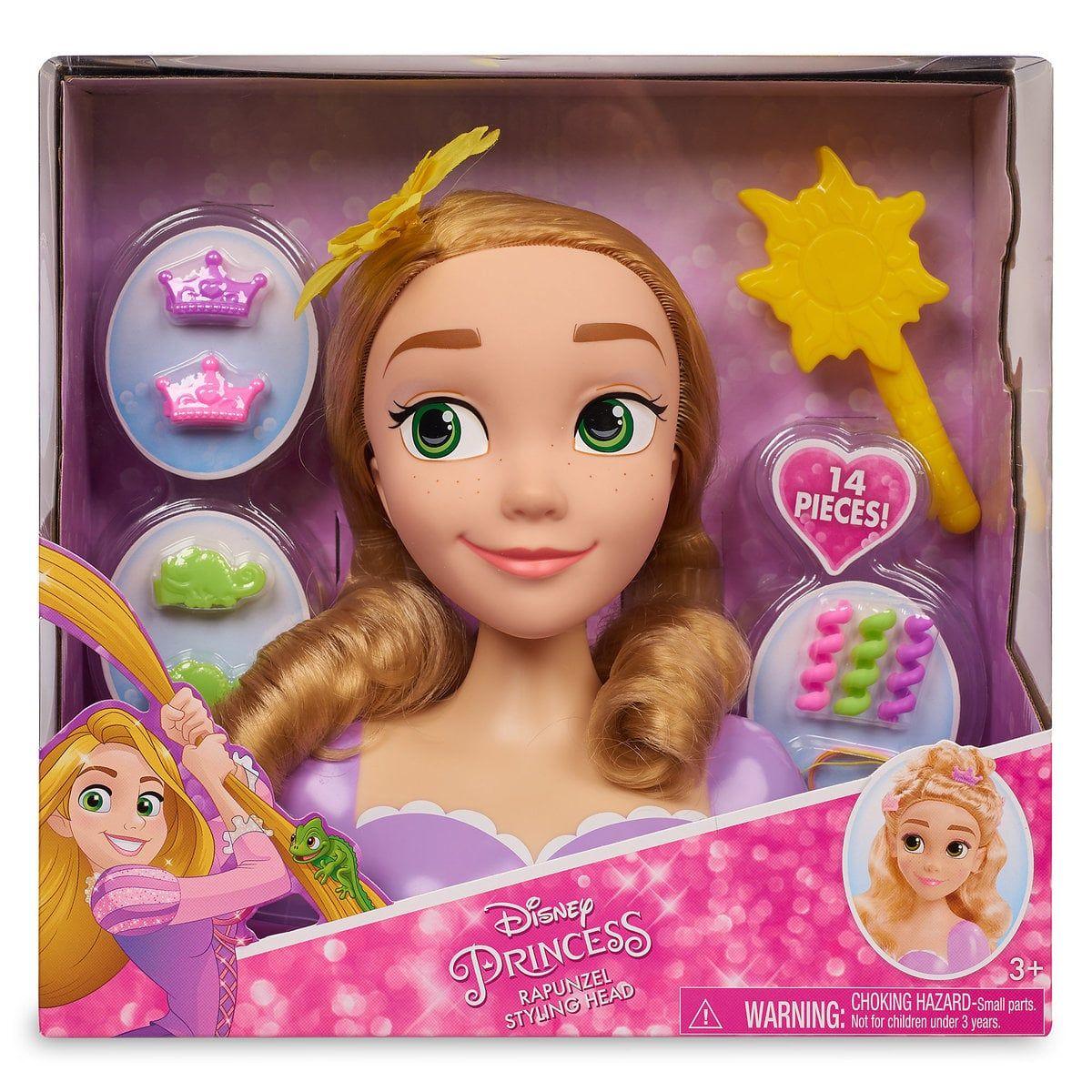 Rapunzel Deluxe Styling Head Shopdisney Rapunzel Princess Toys Barbie Doll Set