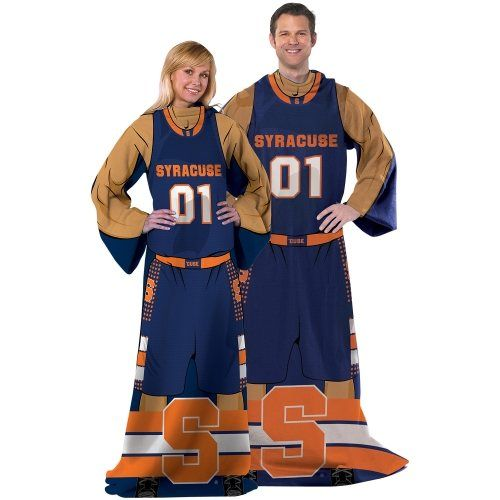 Syracuse Orange Unisex Player Comfy Throw Navy Blue