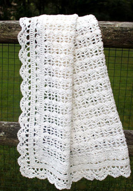 Crocheted baby blanket. This is so sweet. | Crochet | Pinterest ...