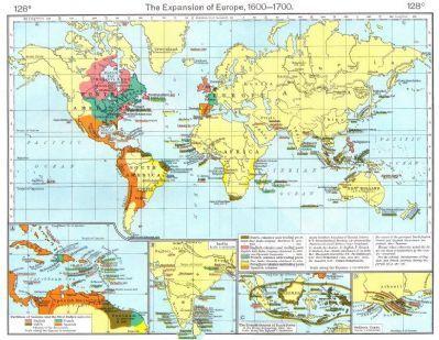 European colonisation 17c guyana west indies india indonesia guinea european colonisation 17c guyana west indies india indonesia guinea 1956 map gumiabroncs Gallery