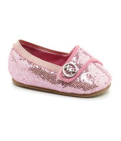 YES PLEASE. MICHAEL Michael Kors Infant Girls' Baby Grace Glitter Crib Shoes | Dillards.com