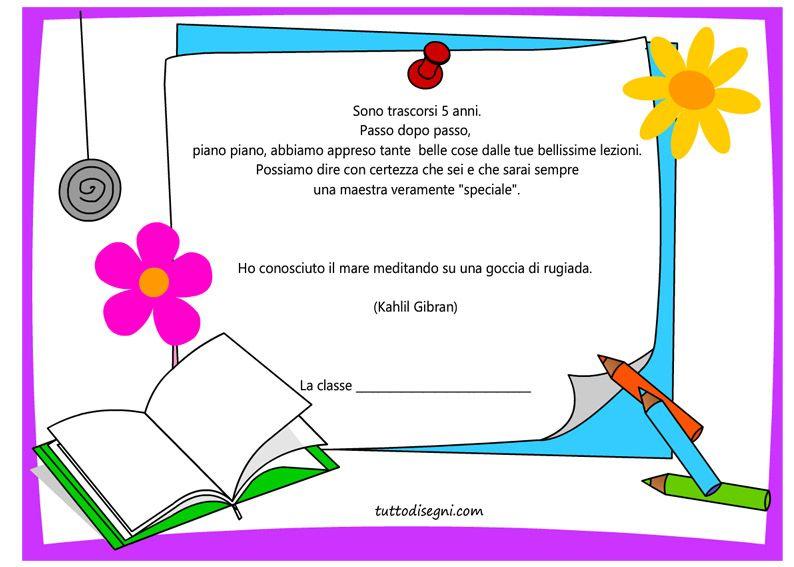 Frasi Ringraziare Maestra Fine Anno Con Immagini Frasi