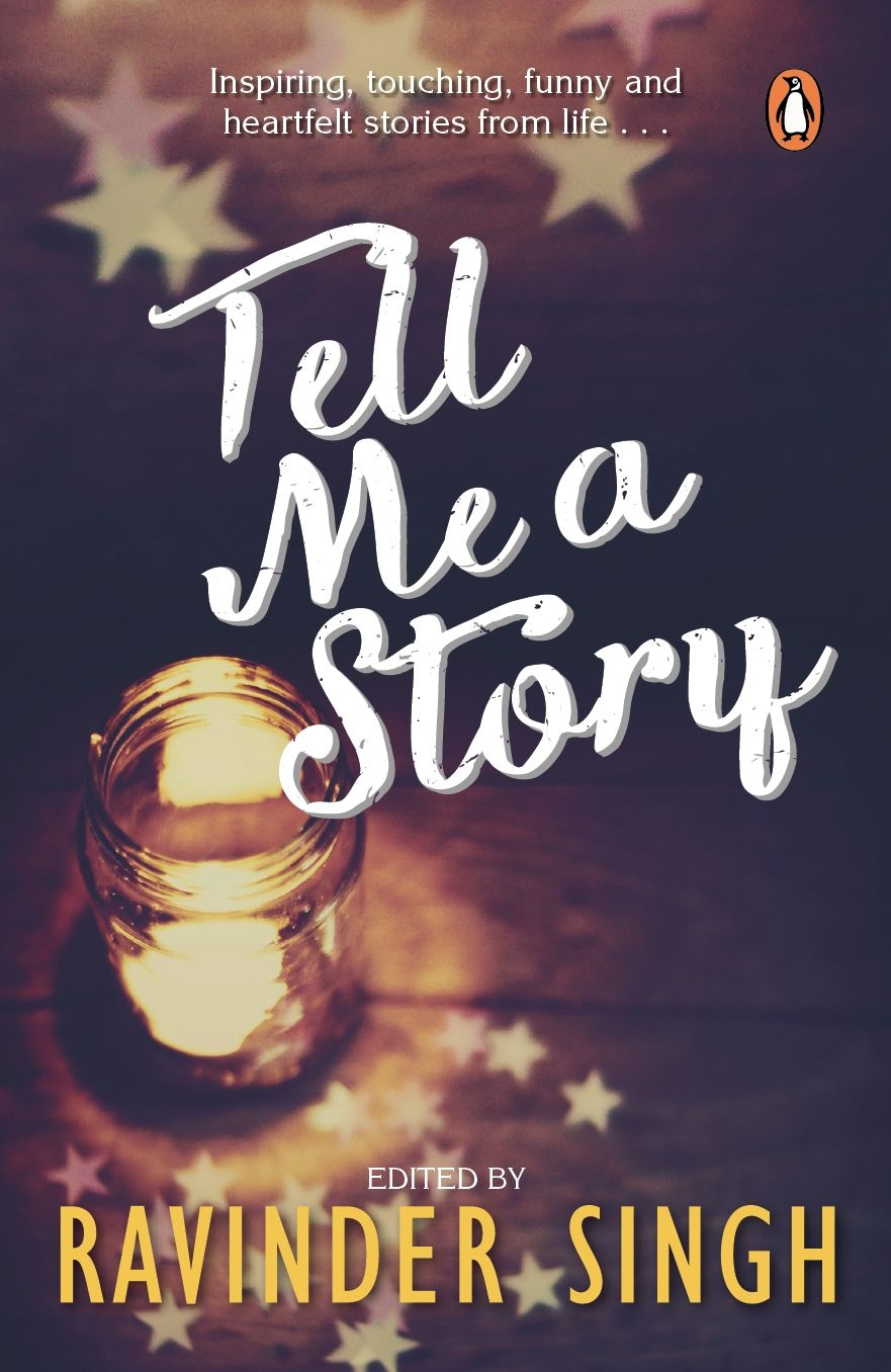 Cover For Ravinder Singh S Tell Me A Story Cover Design By