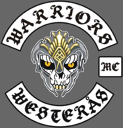 Mc Patches Biker Logo Club Color Motorcycle club patch template photoshop