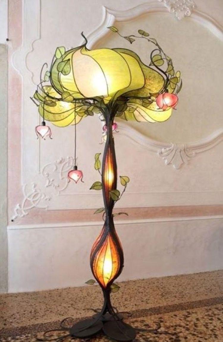 delightful einfache dekoration und mobel tiffany leuchten glaskunst fuer zuhause #1: Dekoration, Beleuchtung Für Zuhause, Beleuchtungsideen, Moderne Lampen,  Moderne Kunst, Antike Möbel, Feenmöbel, Lampendesign, Stehlampen