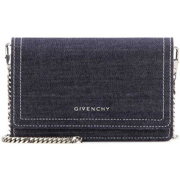 b3e75edd6c Givenchy Pandora Chain Denim Shoulder Bag ( 1