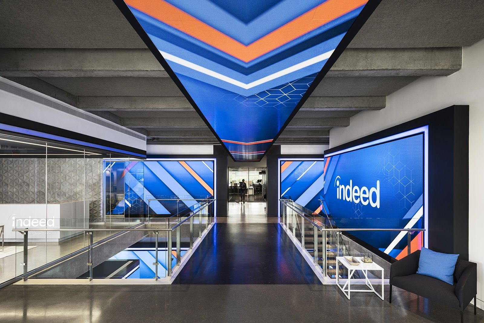 Inside Indeed's New Sleek Austin Headquarters Modern