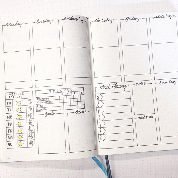 homework journal template
