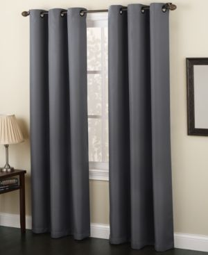 Lichtenberg Montego Casual Grommet Curtain Panels Reviews Window Treatments Blinds Macy S Grommet Curtains Curtains Panel Curtains