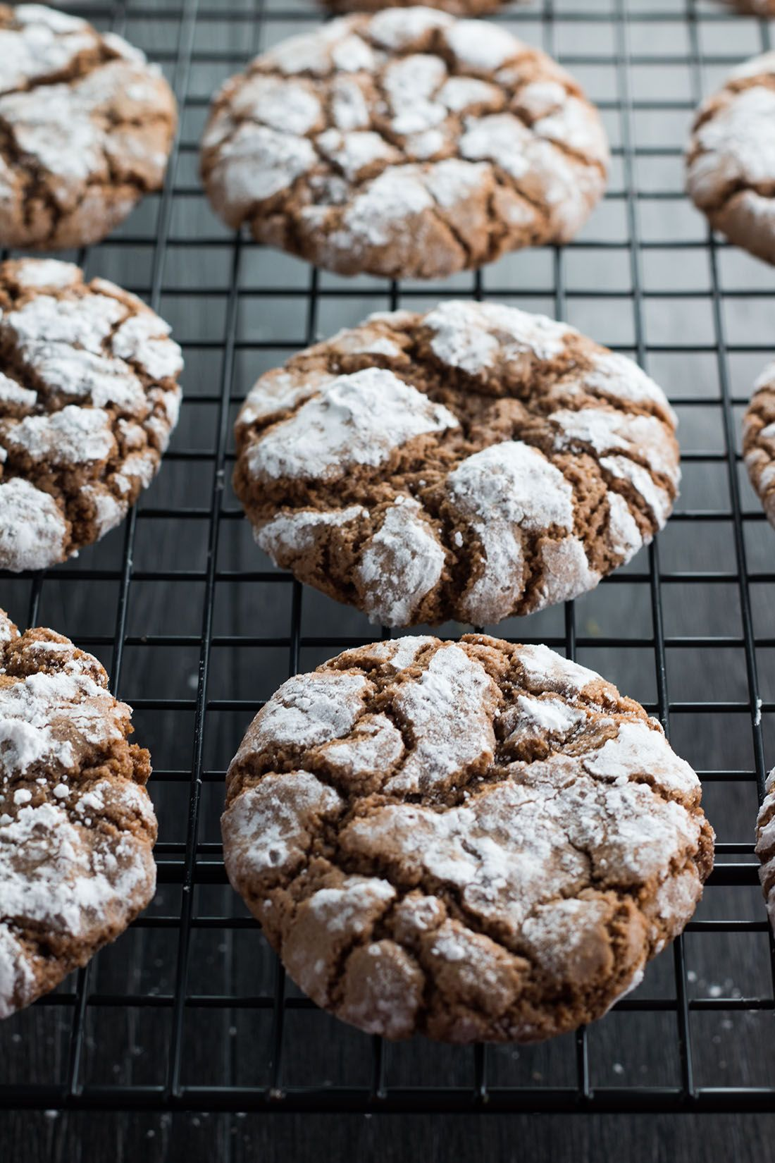 Spiced Ginger Crinkle Cookies Recipe Gingerbread