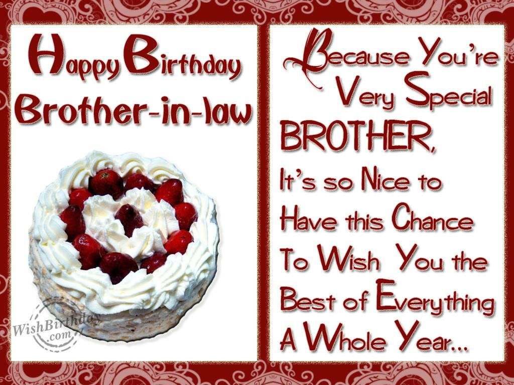 Happy Birthday Brother In Law Happy Birthday To A Special