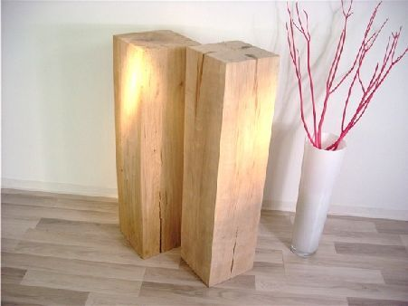 holzbl cke holzblock holzkl tze aus massivholz eiche oder buche holz und deko in 2018. Black Bedroom Furniture Sets. Home Design Ideas