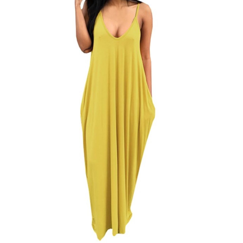 Salehp comfy yellow maxi products pinterest yellow maxi