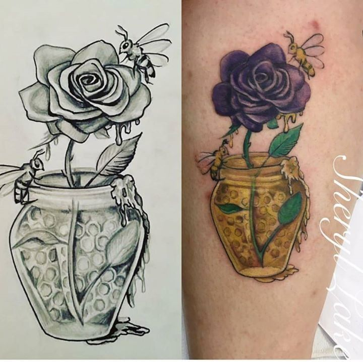 Tattoo by sheryl from the painted lady tattoo