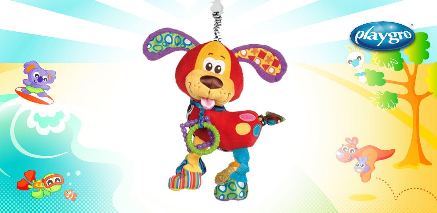 0181200 Playgro Colgante perrito Pooky