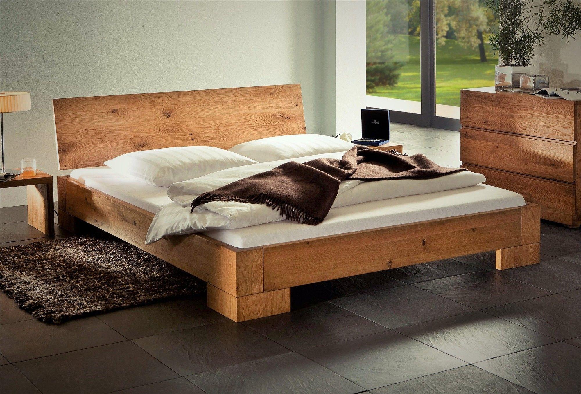 Solid Wood Beds Hasena Oakline Vaco Varus Solid Oak Bed Head2bed Uk Spalna