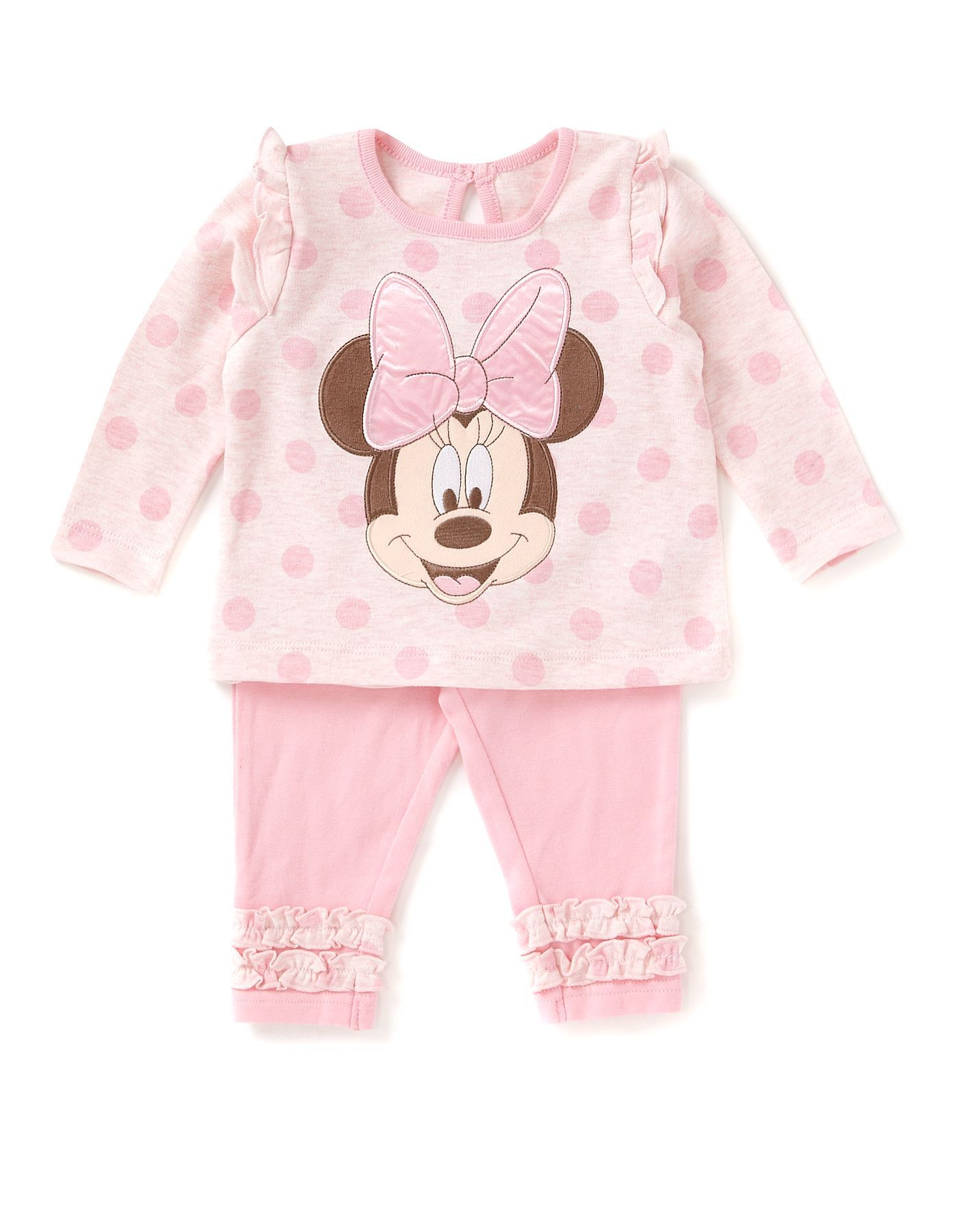 Marvelous Minnie Mouse Spot And Frill Baby Outfit | Baby | George At ASDA
