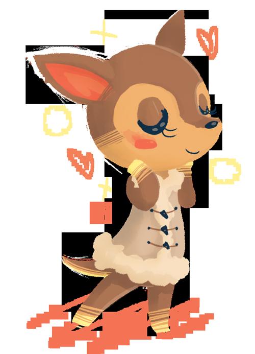 Old Art Fauna By Aer0hail Animal Crossing Fan Art Animal Crossing Villagers Animal Crossing