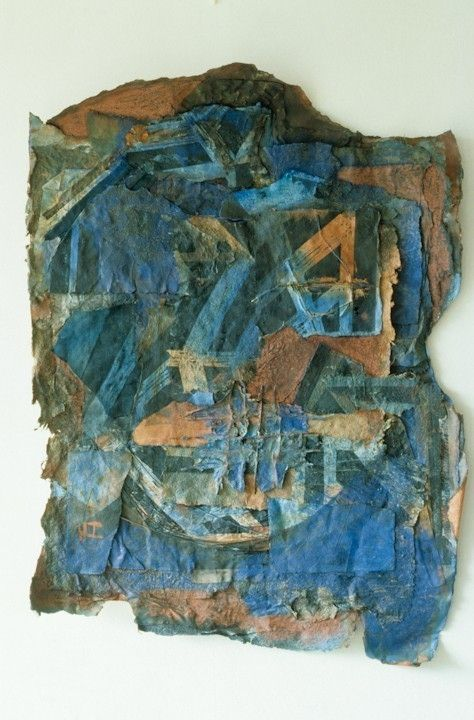 Blueprint by inga hunter what i do is to make a collage of mixed blueprint by inga hunter what i do is to make a collage of mixed papers block print it with my etching press then work into the piece with colour malvernweather Image collections