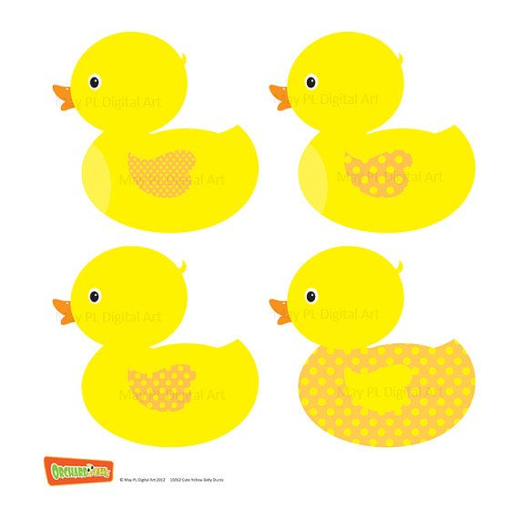 yellow duck baby clipart perfect to make cute ducky baby shower rh pinterest com cute baby duck clipart baby duck clip art free