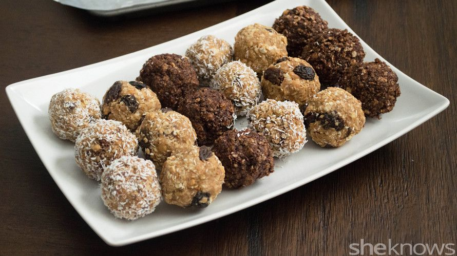 Skip the shake, and use protein powder to make these healthy, no-bake, bite-size snacks