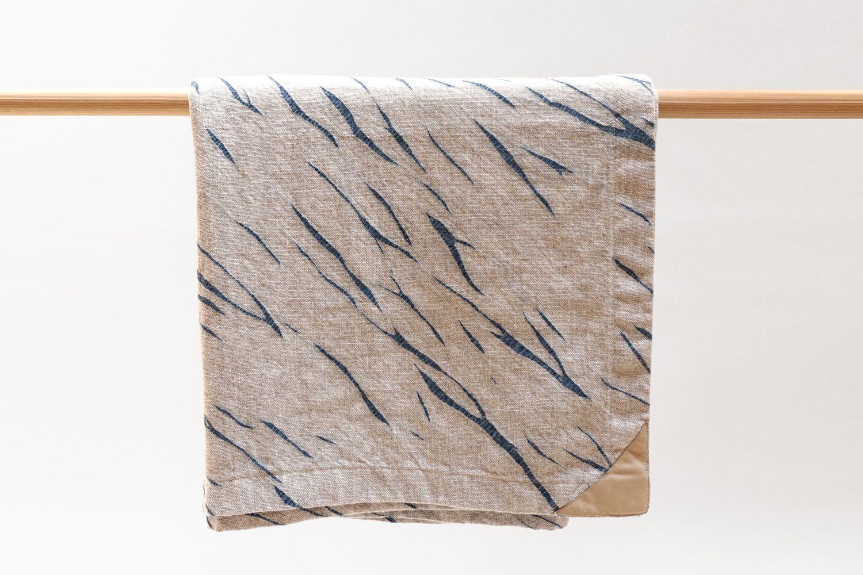 "Shibori Blanket 70"" X 77"""