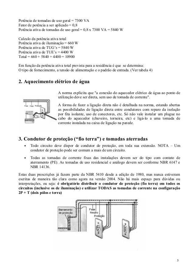 Apostila Cefet Instalacoes Eletricas Instalacoes Eletricas Instalacao Eletrica Predial
