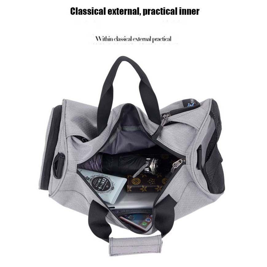 Waterproof Sports Gym Bags, Multifunction Dry Wet