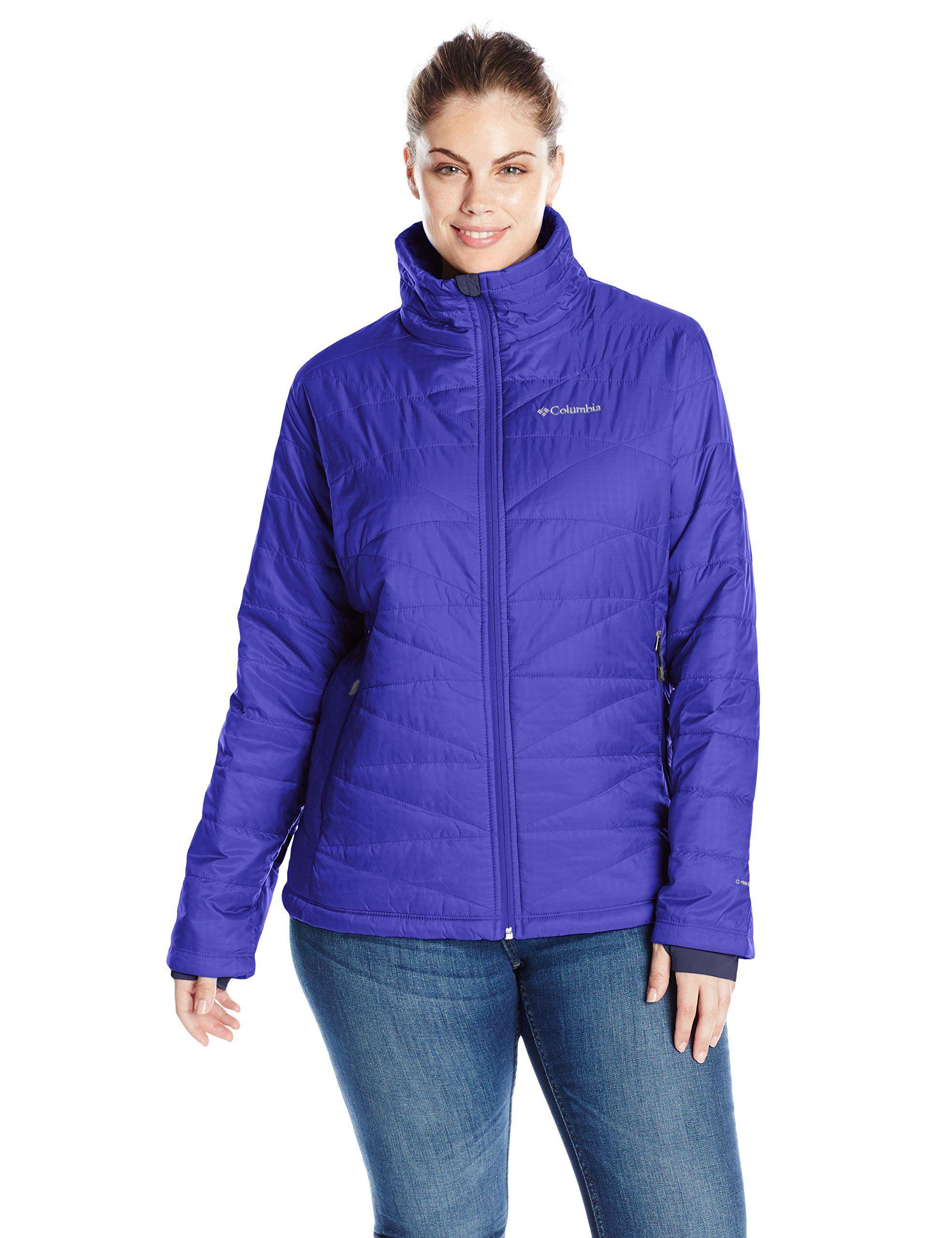 3bf9fd23093 Columbia Women s Plus Size Mighty Lite iii Jacket