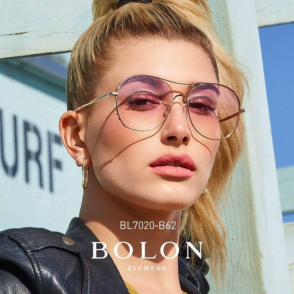 8b964cc043 Hailey for Bolon Eyewear.  haileybaldwin