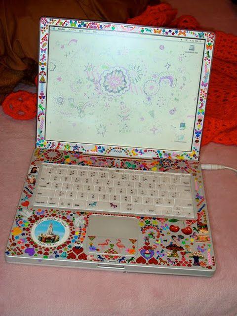 Cool Decorated Laptop Computer Design Laptop Decoration Laptop