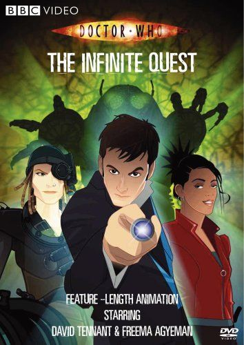 Doctor Who: The Infinite Quest WARNER HOME VIDEO | Doctor who dvd, Doctor who, Doctor