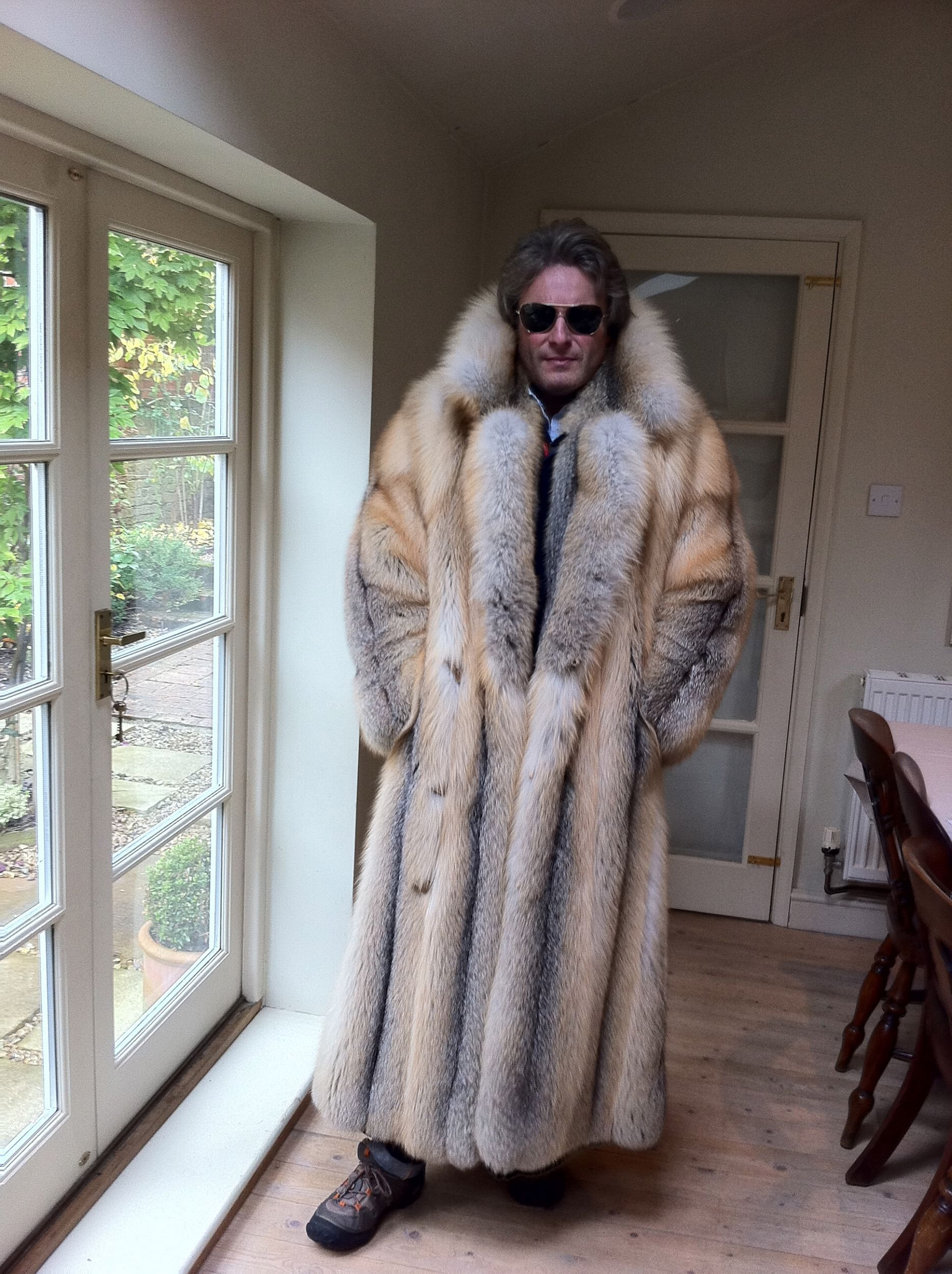 Dripping in Golden isle fox | Gentlemen in Furs | Pinterest