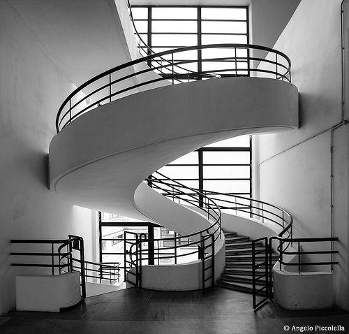 Luigi moretti architecture staircase design stairs for Casa design roma