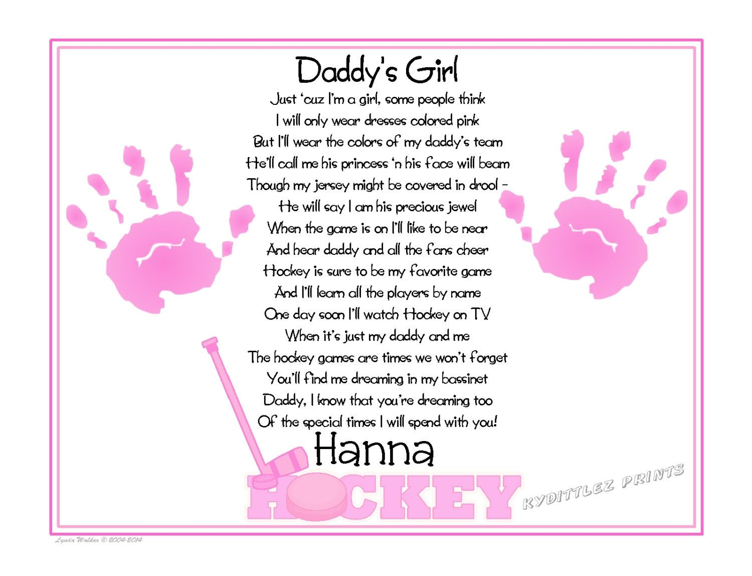Daddy Poems From Baby Girl 6