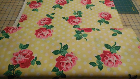 Lucy  Michael Miller Fabric 1 Yard by Grannybevsvintage on Etsy