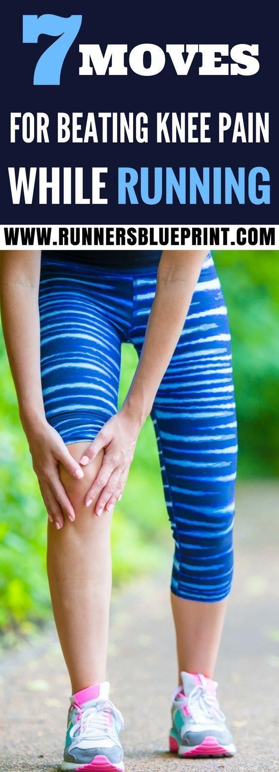 7 Moves For Beating Knee Pain While Running #strengtheningexercises