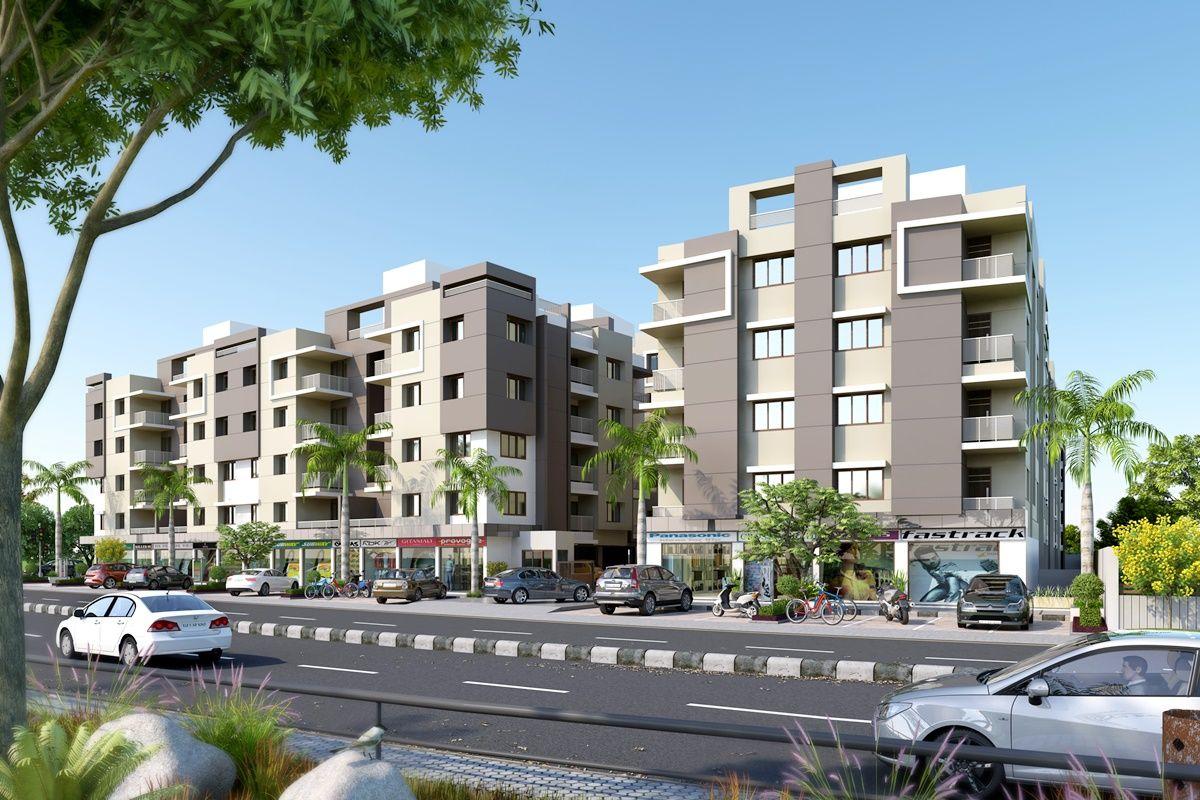 Exterior Design #Rendering For #Condo #Apartment   3D Hi Rise ...