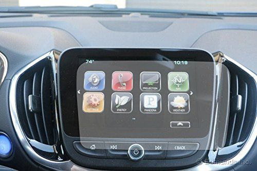 Pcprofessional Screen Protector Set Of 2 For 2016 2017 Chevrolet Volt Lt Primer 8 Mylink Touch Display Navigation System Anti Glare